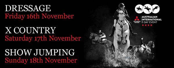 3 Day International equestrian