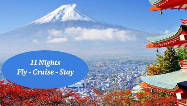 Cruise Japan and meet Geisha